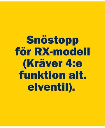 Snöstopp för RX-modell
