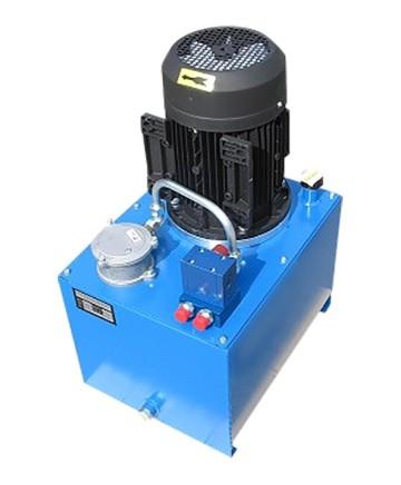 Elektriskt Hydraulaggregat tryckvändande ventil
