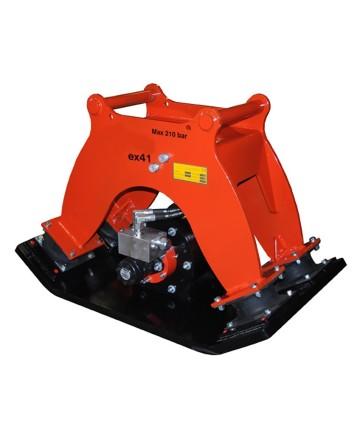 Markvibrator ex41 för grävmaskiner 10-20 ton