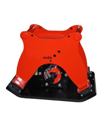 Markvibrator ex41 för grävmaskiner 3-10 ton