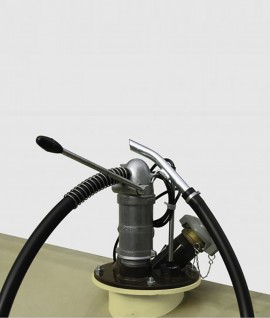 Hand pump for engine oils up to SAE 50 for UNI/MULTI-Tank up to 1000 l