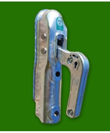 Drag för ATV m/kul koppling. 50mm,2st M12x80