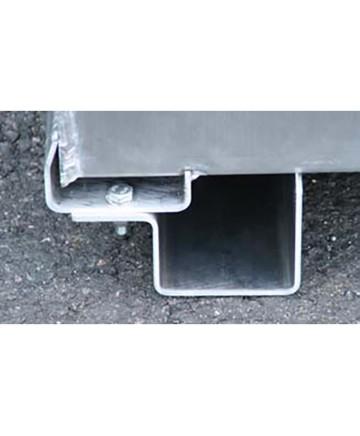 Förhöjningsmedar Gaffeltruck för Pickuptank Aluminium, 400 L