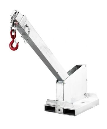Materialhanteringsarm, teleskopisk, TJCL45 (tiltbar), 6 steg