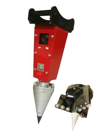 Hydraulmotor för klyvkon & stubborr (2 storlekar)