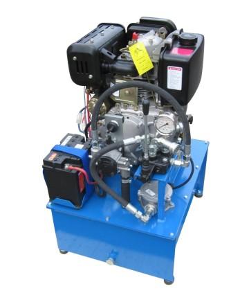 Hydraulaggregat, Dieselmotordrivet, DA 1020