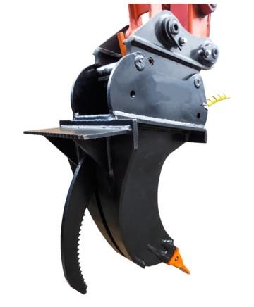 Världens första hydrauliska tjälkrok!!