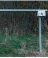 Extra låsstolpe till väggrind & vägbom
