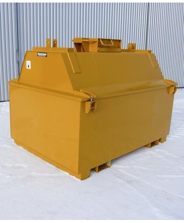 ADR-godkända tankar 1000 - 3000 L med uppsamlingsbalja, utan skåp