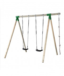Wooden Swing High