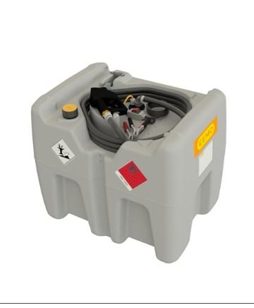 Tank 210 l och 12 V pump 40l/min