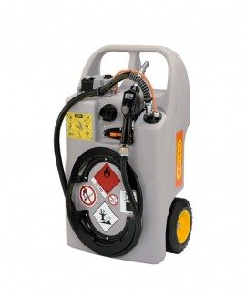Mobil dieselutrustning 60 liter batteripump