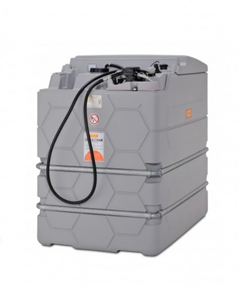 Dieseltank stationär 2500 liter inomhus