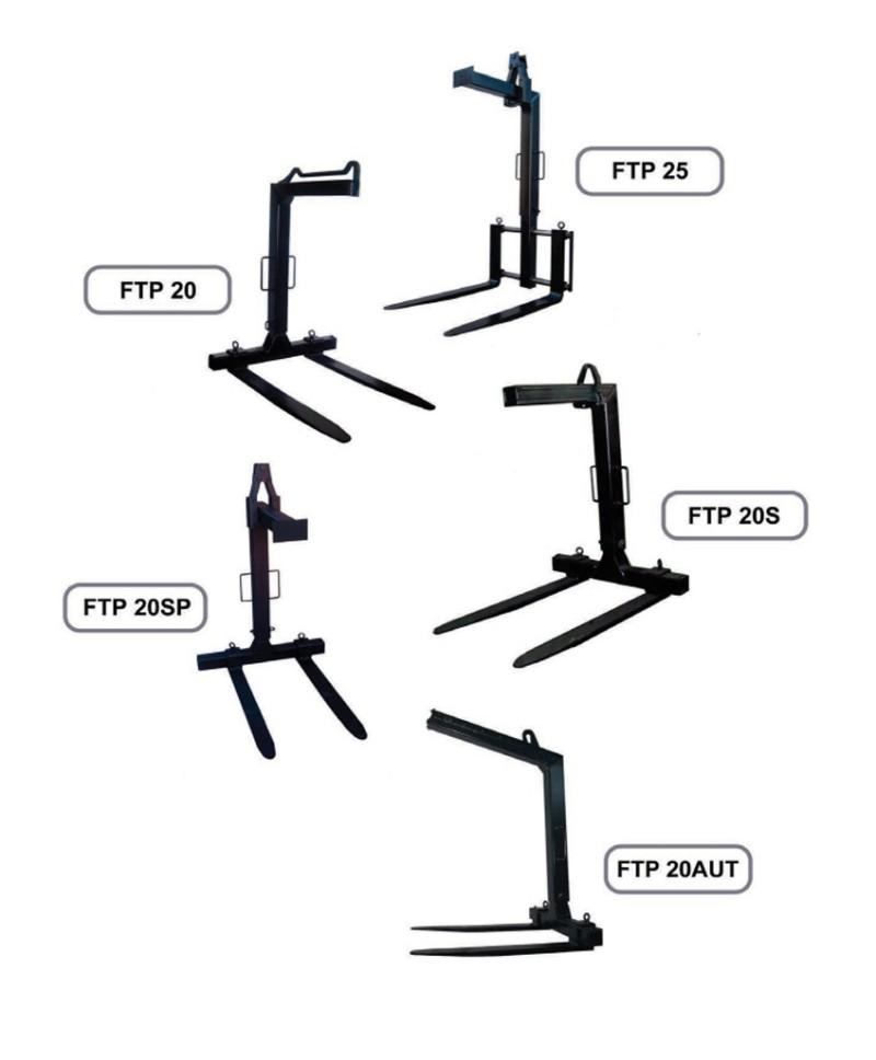 Pallgafflar FTP 20/20SP/20S/25/20AUT