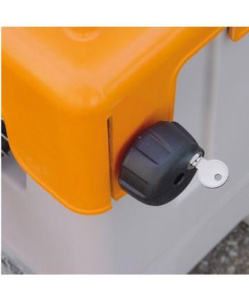 Lås till dieselutrustningslock
