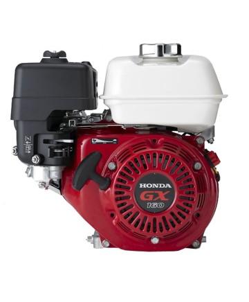 Honda bensinmotor GX160 med oljevakt och elstart 12V, axel 19,05 mm
