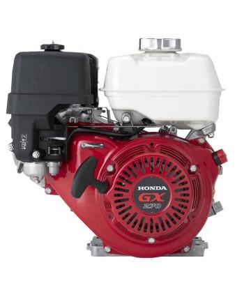 Honda Bensinmotor GX270, 8hk, 25,4mm axel, oljealarm, elstart, 1A laddning