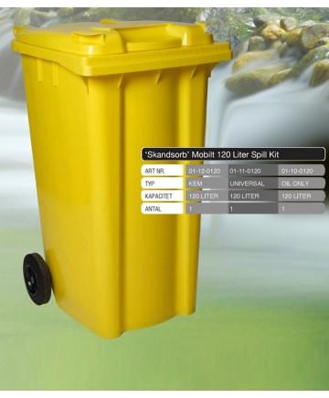 Spill kit, 120 liter