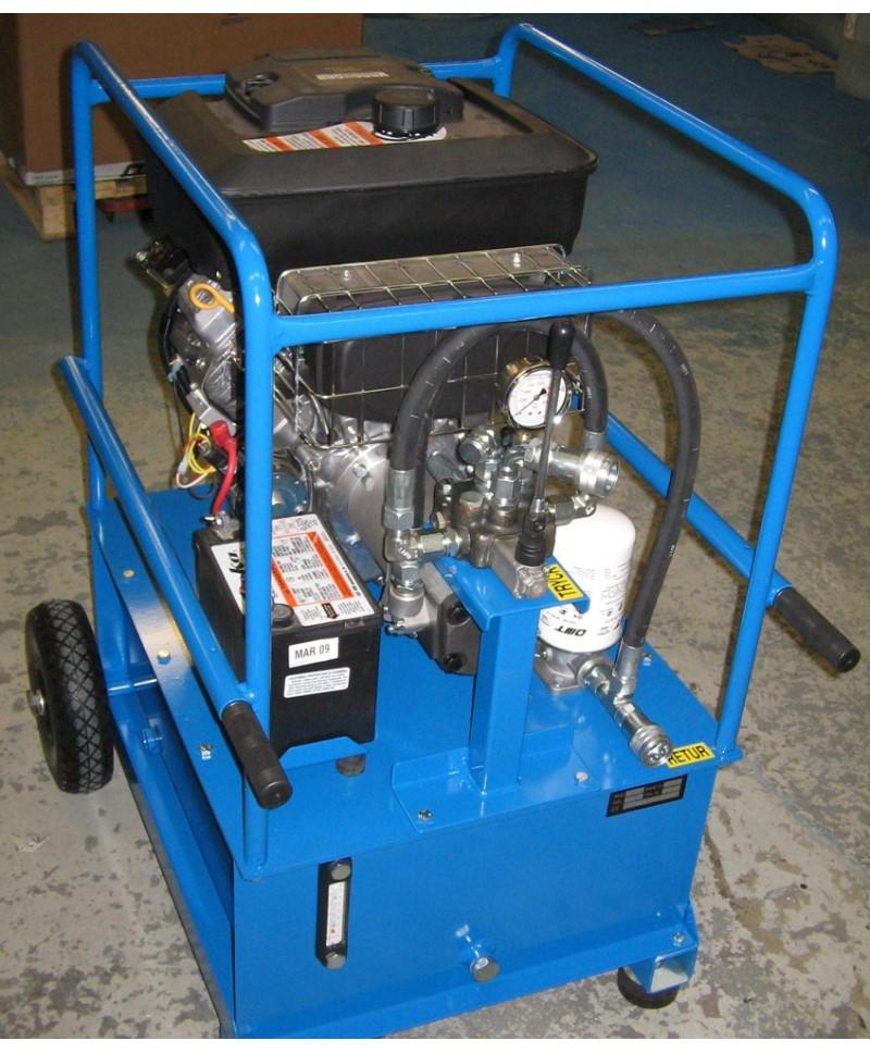 Hydraulaggregat, Bensinmotordrivet BA1840