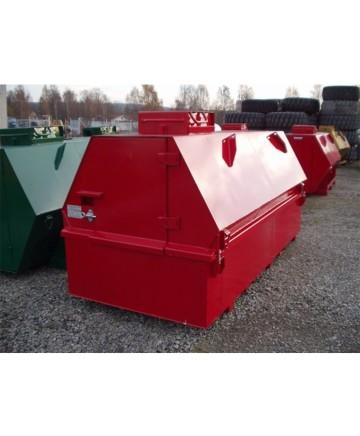ADR-godkända tankar 1000 - 3000 L med skåp och uppsamlingsbalja nr.2