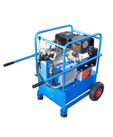 Hydraulaggregat, Bensinmotordrivet , BA 1328 E (elstart)