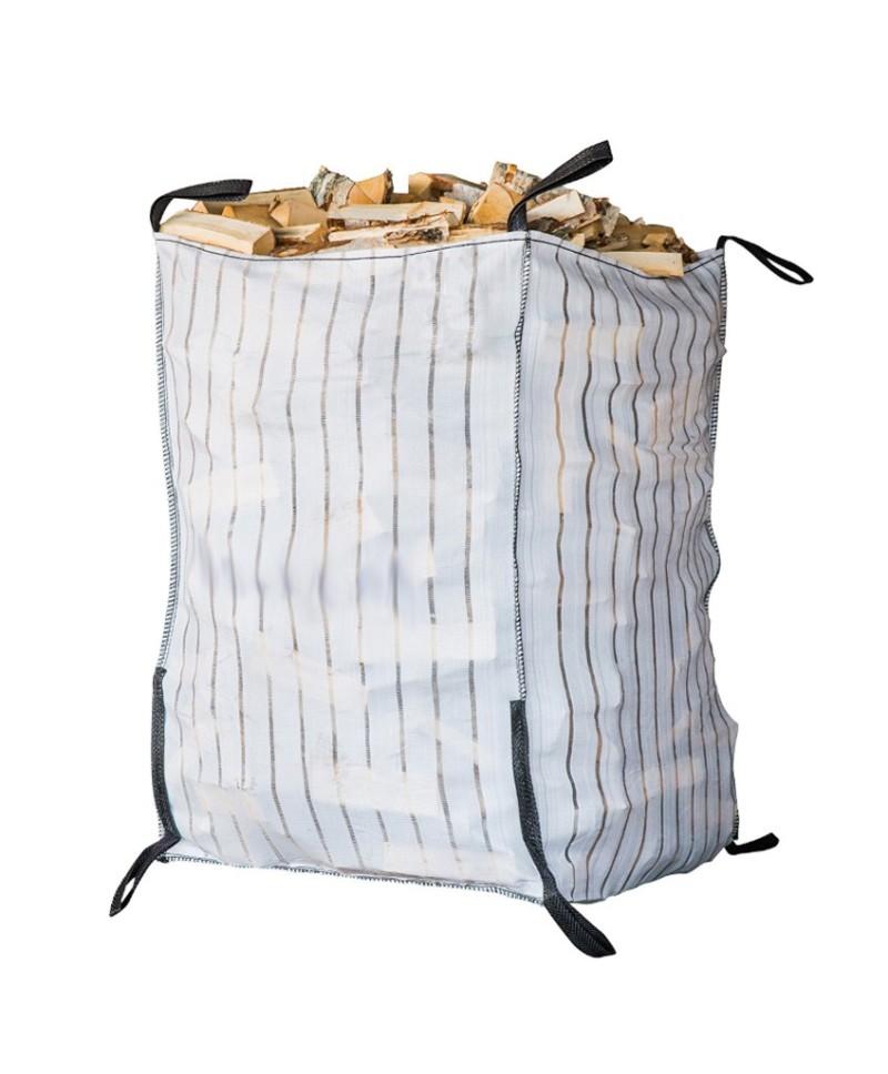Vedsäck Big Bag fast botten 1,5 m3