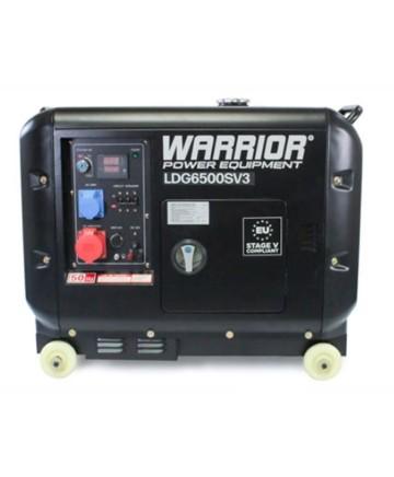 Warrior Dieselverk 5500W, ATS 1-fas