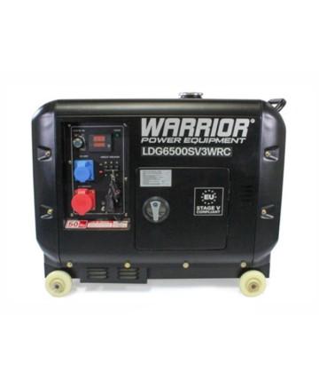 Warrior Dieselverk 5500W, Trådlös fjärrkontroll 1-fas